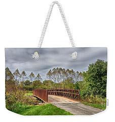 Walnut Woods Bridge - 3 Weekender Tote Bag