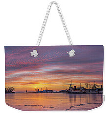 Warm Emotions On A Cold Morning Weekender Tote Bag