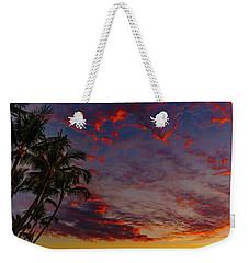 Warm Sky Weekender Tote Bag