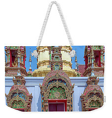 Wat Ban Kong Phra That Chedi Windows Dthlu0503 Weekender Tote Bag