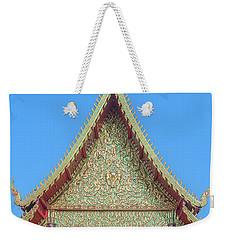 Wat Nong Khrop Phra Ubosot Gable Dthcm2663 Weekender Tote Bag