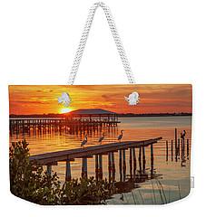 Watching The Sunset Weekender Tote Bag