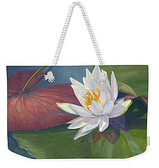Water Beauty Weekender Tote Bag