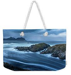 Water Flow At Stormy Sea Weekender Tote Bag