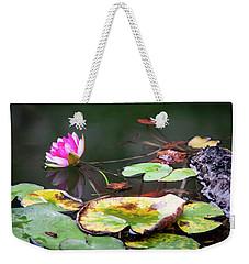 Water Lily #1 Weekender Tote Bag