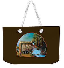 Water Wheel Overlay Weekender Tote Bag