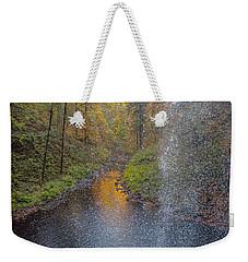 Waterfall Waterdrops Weekender Tote Bag
