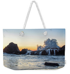 Wave Burst Weekender Tote Bag