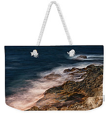 Waves And Rocks At Sozopol Town Weekender Tote Bag