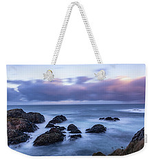 Waves At The Shore In Vesteralen Recreation Area Weekender Tote Bag