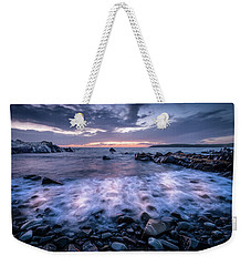 Waves In Motion Weekender Tote Bag