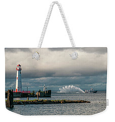 Wawatam Lighthouse Weekender Tote Bag