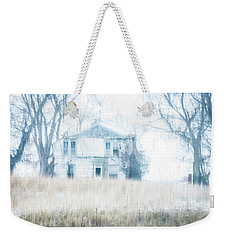 Weekender Tote Bag featuring the photograph Weathered by Melissa Lane