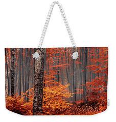 Welcome To Orange Forest Weekender Tote Bag