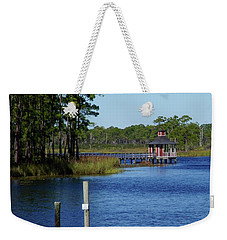Western Lake Florida Weekender Tote Bag