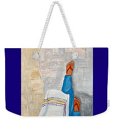 Where Are You Going? Weekender Tote Bag