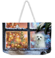 Where Is Santa ? Weekender Tote Bag