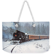 White Mountain Scenic Railroad Engine 36 September 1971 Weekender Tote Bag