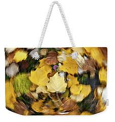 Whirlpool Of Autumn Weekender Tote Bag