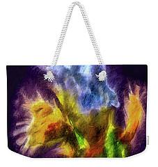 White Lily Bud #i0 Weekender Tote Bag