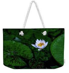White Lotus Weekender Tote Bag