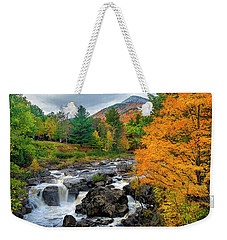 Whiteface Mountain And The Ausable River Weekender Tote Bag