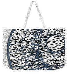 Weekender Tote Bag featuring the digital art Wicker Shadows by Sarajane Helm