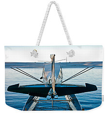 Weekender Tote Bag featuring the photograph Wild Blue by Carl Young