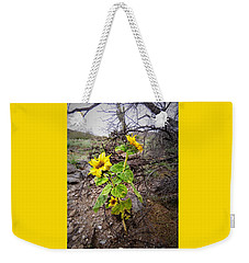Wild Desert Sunflower Weekender Tote Bag