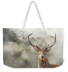 Wild Nature - Stag Weekender Tote Bag