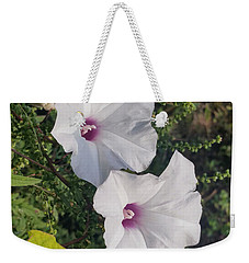 Weekender Tote Bag featuring the digital art Wild Potato by Vincent Autenrieb