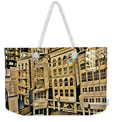 Weekender Tote Bag featuring the photograph Window Display by Chris Lord