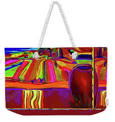 Georgia- Out Her Window Weekender Tote Bag