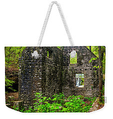 Weekender Tote Bag featuring the photograph Window To The Waterfall by Andy Crawford