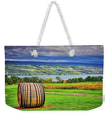 Weekender Tote Bag featuring the photograph Wine Country - Finger Lakes, New York by Lynn Bauer