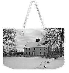 Winter At Noyes House Weekender Tote Bag