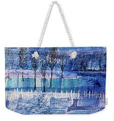 Winter Blues 1 Weekender Tote Bag