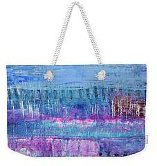 Winter Blues 3 Weekender Tote Bag