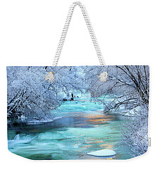 Winter Brilliance And Beauty Weekender Tote Bag