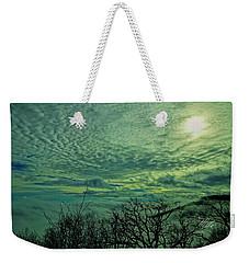 Winter Clouds Weekender Tote Bag