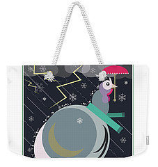 Winter Greetings Weekender Tote Bag