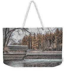 Winter Sachs Weekender Tote Bag