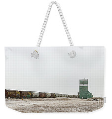 Weekender Tote Bag featuring the photograph Winter Sentinel by Brad Allen Fine Art