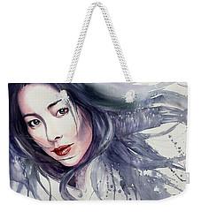 Winter Storm Weekender Tote Bag