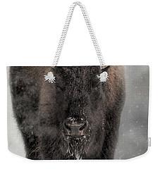 Winter Warrior Weekender Tote Bag