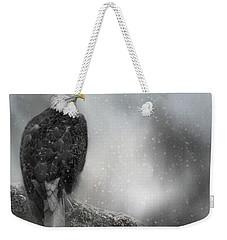 Winter Watcher Weekender Tote Bag