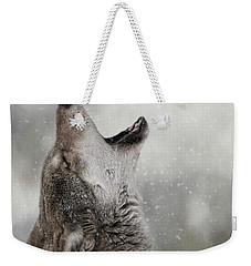 Catching Snowflakes  Weekender Tote Bag