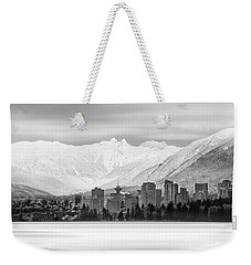 Winterscape Vancouver Weekender Tote Bag