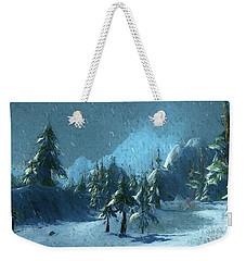 Winterspring Weekender Tote Bag