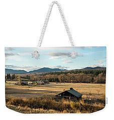 Winthrop Morning Pastures Weekender Tote Bag